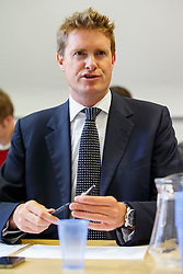 © Licensed to London News Pictures. 07/09/2015. London, UK. Tristram Hunt calling Labour Party members to ask them to vote for Labour Party leader candidate Liz Kendall and making sure they vote before the Thursday lunchtime deadline as the Labour leadership election enters the final 72 hours. Photo credit: Tolga Akmen/LNP