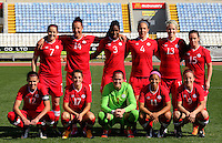 Fifa Womans World Cup Canada 2015 - Preview //<br /> Cyprus Cup 2015 Tournament ( Gsz Stadium Larnaca  - Cyprus ) - <br /> Canada vs South Korea 1-0  // Team Group of Canada , from the left up :<br /> Rhian Wilkinson ,Melissa Tancredi ,Kadeisha Buchanan ,Carmelina Moscato ,Sophie Schmidt ,Allysha Chapman //<br /> Christine Sinclair ,Jessie Fleming ,Erin McLeod ,Desiree Scott ,Josée Bélanger