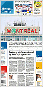 March 17, 2021 (CANADA): Front-page: Today's Newspapers In Canada
