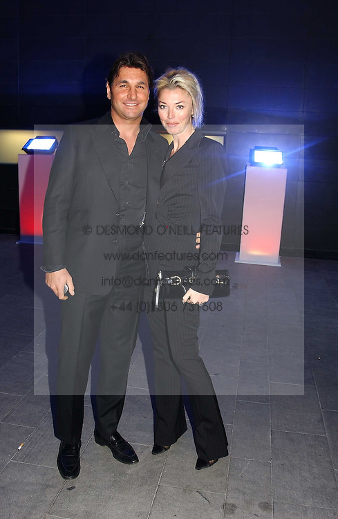 MISS TAMARA BECKWITH and MR GEORGE VERONI  at the launch party for 'The London Look - Fashion From Street to Catwalk' held at the Museum of London, London Wall, Londom EC2 on 28th October 2004<br /><br />NON EXCLUSIVE - WORLD RIGHTS
