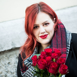 20170214: SLO, People - Portrait of Natasa Mernik, author of Anakrejevska blog