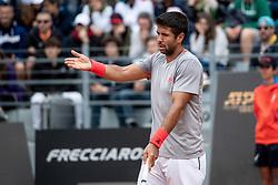 May 13, 2019 - Rome, Italy - Fernando Verdasco (SPA) looks dejected against Kyle Edmund (GBR) during Internazionali BNL D'Italia  Italian Open at the Foro Italico, Rome, Italy on 13 May 2019. (Credit Image: © Giuseppe Maffia/NurPhoto via ZUMA Press)