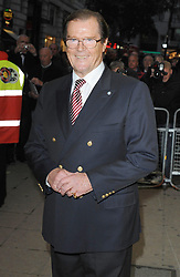 File photo dated 05/10/08 of Sir Roger Moore, who has died in Switzerland after a short battle with cancer, his family has announced.