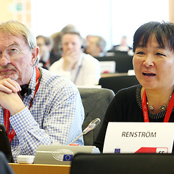 12 May 2017, 123rd Plenary Session of the European Committee of the Regions <br /> Belgium - Brussels - May 2017 <br /> <br /> Mrs RENSTRÖM Yoomi, Member of Ovanåker Municipal Council, Sweden<br /> <br /> © European Union / Patrick Mascart