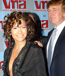 Aug 29, 2002; New York City, NY, USA; JENNIFER LOPEZ & DONALD TRUMP at the 2002 MTV VMA's at Radio City Music Hall in NYC..  (Credit Image: Steven Tackeff/ZUMAPRESS.com)