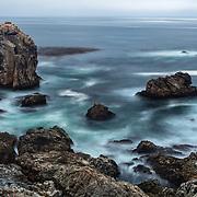 Rocky Point - Stirring Surf - Big Sur, CA