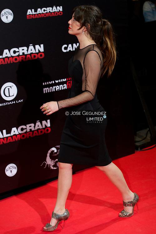 Blanca Suarez attends Alacran Enamorado premiere at Callao Cinema on April 10, 2013 in Madrid