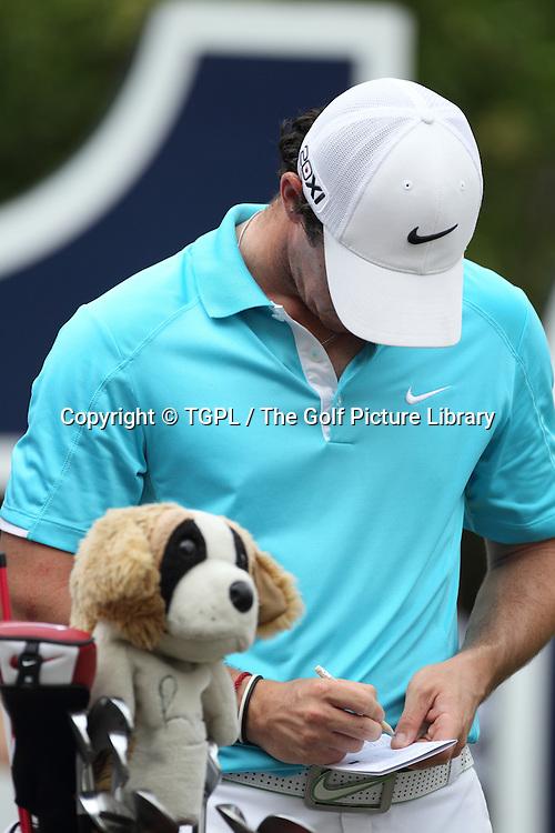 Rory MCILROY (NIR) during fourth round DP World Tour Championship 2013,Jemeirah Golf Estates, Dubai,UAE.