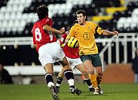 Fotball, 16.november 2004, Privatlandskamp, Norge - Australia , Brett Emerton, Australia