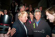 BORIS JOHNSON, Drinks soiree and silent auction of Ô100 ThingsÕ,  hosted by the Mayor of London Boris Johnson, in aid of the Legacy List. 50 St. James. London. 2 November 2011. <br /> <br />  , -DO NOT ARCHIVE-© Copyright Photograph by Dafydd Jones. 248 Clapham Rd. London SW9 0PZ. Tel 0207 820 0771. www.dafjones.com.<br /> BORIS JOHNSON, Drinks soiree and silent auction of '100 Things',  hosted by the Mayor of London Boris Johnson, in aid of the Legacy List. 50 St. James. London. 2 November 2011. <br /> <br />  , -DO NOT ARCHIVE-© Copyright Photograph by Dafydd Jones. 248 Clapham Rd. London SW9 0PZ. Tel 0207 820 0771. www.dafjones.com.