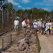 Tour in Coconut Prison, Phu quoc, Vietnam