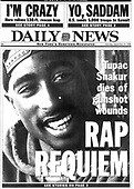 September 13, 2021 - WORLWIDE: Unforgettable: 25 Years Since The Passing Of Tupac Shakur