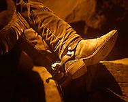 Cowboy resting worn sole Utah