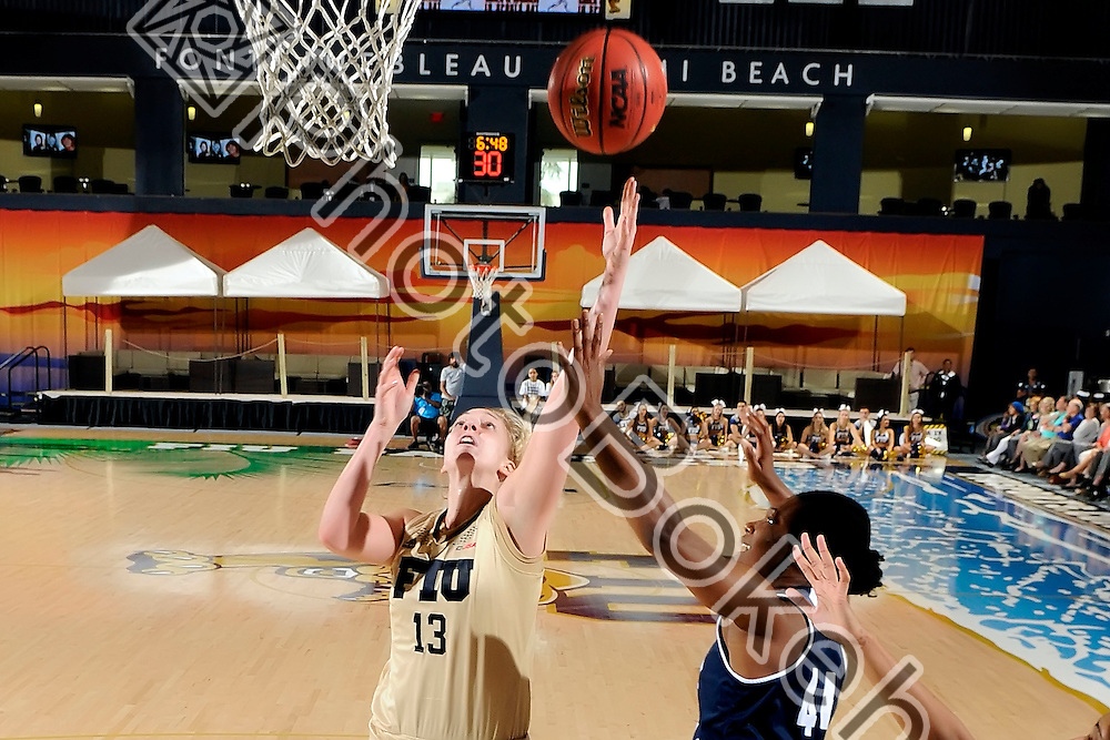 2016 February 20 - FIU's Janka Hegedus (13). <br /> Florida International University fell to Rice, 62-68, at FIU Arena, Miami, Florida. (Photo by: Alex J. Hernandez / photobokeh.com) This image is copyright by PhotoBokeh.com and may not be reproduced or retransmitted without express written consent of PhotoBokeh.com. ©2016 PhotoBokeh.com - All Rights Reserved
