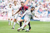 Real Madrid's XXX and Levante's XXX during La Liga match between Real Madrid and Levante UD at Santiago Bernabeu Stadium in Madrid, Spain September 09, 2017. (ALTERPHOTOS/Borja B.Hojas)