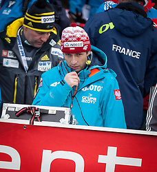 03.01.2014, Bergisel Schanze, Innsbruck, AUT, FIS Ski Sprung Weltcup, 62. Vierschanzentournee, Training, im Bild Łukasz Kruczek, Trainer (POL) // Łukasz Kruczek, Trainer (POL) during practice Jump of 62nd Four Hills Tournament of FIS Ski Jumping World Cup at the Bergisel Schanze, Innsbruck, <br /> Austria on 2014/01/03. EXPA Pictures © 2014, PhotoCredit: EXPA/ JFK