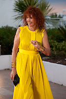 Sabine Azema presents the  Camera d'Or at the Palm D'Or award winners photo call at the 68th Cannes Film Festival Sunday May 24th 2015, Cannes, France.
