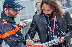 May 25, 2019 - Montecarlo, Monaco - French Dj Bob Sinclar gives a sign  during the qualification session at Formula 1 Grand Prix de Monaco on May 25, 2019 in Monte Carlo, Monaco. (Credit Image: © Robert Szaniszlo/NurPhoto via ZUMA Press)