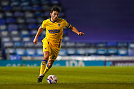 Will Nightingale of AFC Wimbledon in action during the EFL Sky Bet League 1 match between Portsmouth and AFC Wimbledon at Fratton Park, Portsmouth, England on 19 January 2021.