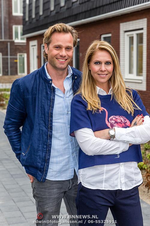 NLD/Utrecht/20170412 - Presentatoren RTL Woonmagazine Nance Coolen en Michiel de Zeeuw,