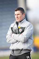 Raith Rovers Player-Coach Grant Murray.<br /> Raith Rovers 2 v 4 Falkirk, Scottish Championship game today at Starks Park.<br /> © Michael Schofield.