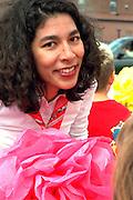 Woman age 29 at Cinco de Mayo festival.  St Paul Minnesota USA