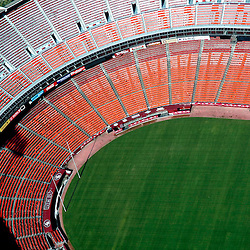 Aerial view of San Francisco 49ers Candlestick Park