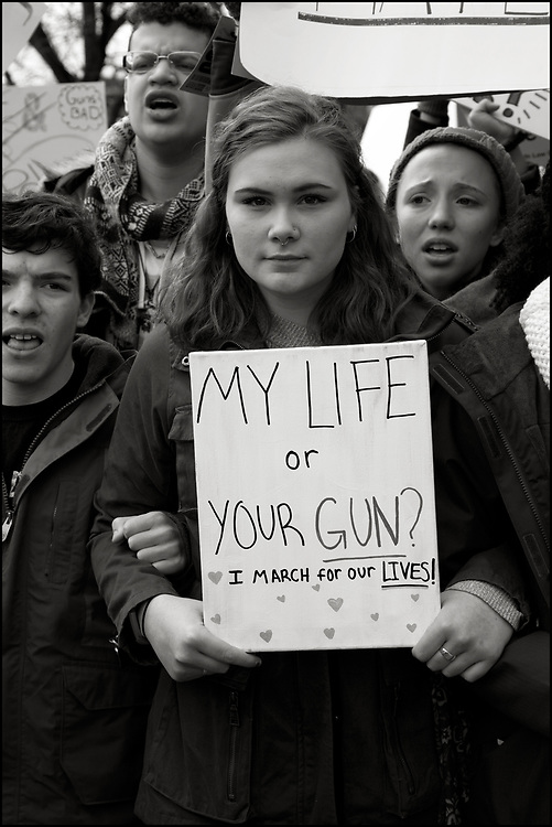 On February 14, 2018, a gunman opened fire with a semi-automatic rifle at Marjory Stoneman Douglas High School (MSD) in Parkland, Florida, killing 17 people and injuring 17 others.<br /> <br /> A month later the students of MSD had formed Never Again MSD, a political action committee for gun control that advocates for tighter regulations to prevent gun violence, and organized March for Our Lives (MFOL). MFOL was a student-led demonstration in support of legislation to prevent gun violence in the United States that took place in Washington, D.C., on March 24, 2018. There were over 880 sibling events throughout the United States and around the world. <br /> <br /> Turnout was estimated to be between 1.2 and 2 million people in the United States, making it one of the largest protests in American history.