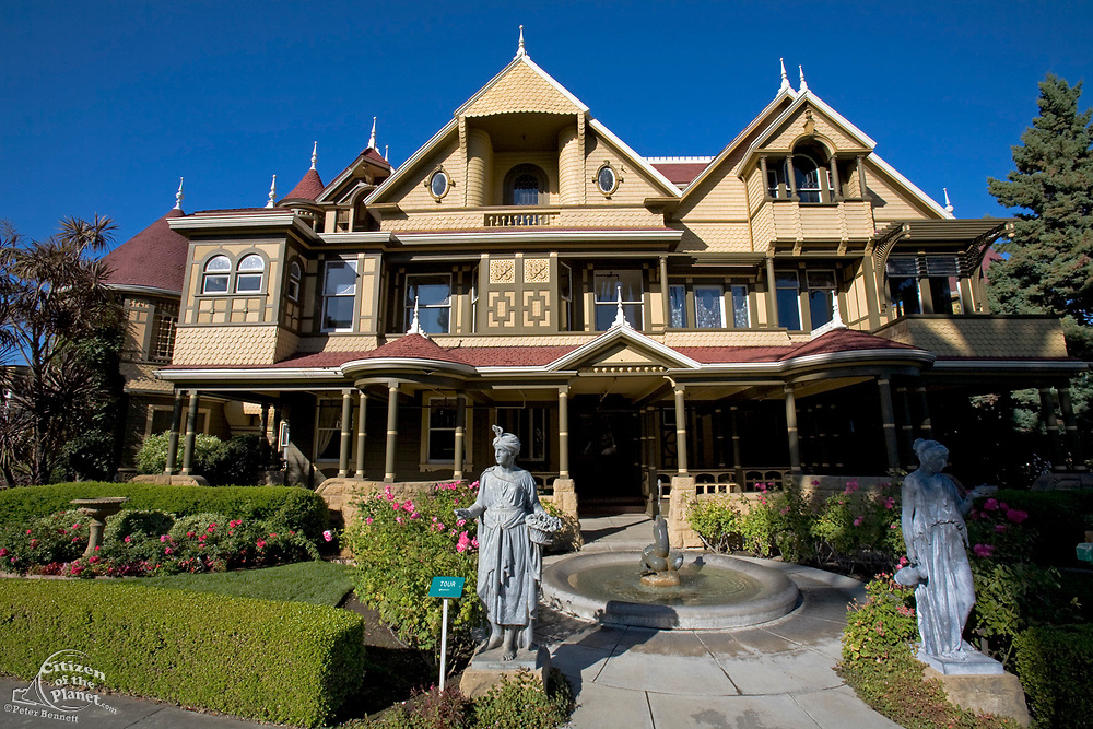 Winchester Mystery House, San Jose, California, USA