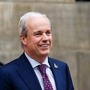 NLD/Amsterdam/201804245 - 20180424 koninklijke familie bij Corps Diplomatique diner 2018, hofmaarschalk Sjoerd Klein Schiphorst