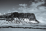 Lomagnupur subglacial mound in South Iceland