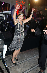 LADY CONRAN dancing at Andy & Patti Wong's Chinese New Year party to celebrate the year of the Rooster held at the Great Eastern Hotel, Liverpool Street, London on 29th January 2005.  Guests were invited to dress in 1920's Shanghai fashion.<br /><br />NON EXCLUSIVE - WORLD RIGHTS