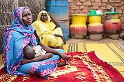 Habsita Moussa, 30, sits with her son Abdelnassir Haroun, 6 mo., at home in Mongo, Guera province, Chad on Wednesday October 17, 2012.
