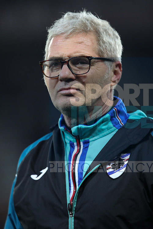 Paolo Bertelli Sampdoria Fitness coach pictured during the Serie A match at Stadio Grande Torino, Turin. Picture date: 8th February 2020. Picture credit should read: Jonathan Moscrop/Sportimage