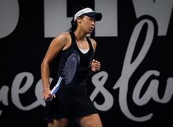 December 31, 2018 - Brisbane, AUSTRALIA - Priscilla Hon of Australia in action during her first-round match at the 2019 Brisbane International WTA Premier tennis tournament (Credit Image: © AFP7 via ZUMA Wire)
