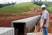 Jeceaba_MG, Brasil..Construcao de uma usina siderurgica em Jeceaba...The construction of the steel industry in Jeceaba...Foto: BRUNO MAGALHAES / NITRO