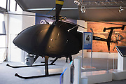 Boeing's H6-U UAS at the US company's chalet Farnborough Airshow.
