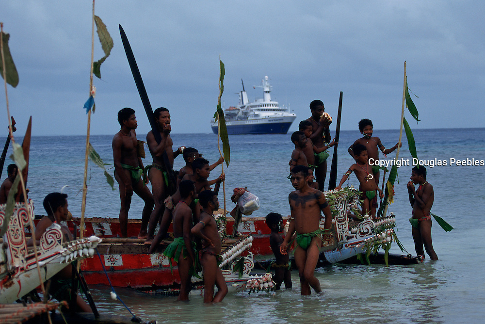 Kitava Island, The Trobriands, Papua New Guinea, (editorial use only- no model release)<br />