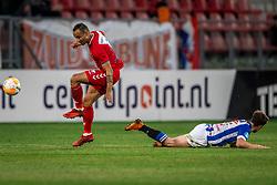 12-05-2018 NED: FC Utrecht - Heerenveen, Utrecht<br /> FC Utrecht win second match play off with 2-1 against Heerenveen and goes to the final play off / (L-R) Sean Klaiber #17 of FC Utrecht, Kik Pierie #5 of SC Heerenveen