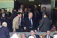 Real Madrid's president Florentino Perez during La Liga match between Real Madrid and Deportivo Alaves at Stadium Santiago Bernabeu in Madrid, Spain. April 02, 2017. (ALTERPHOTOS/BorjaB.Hojas)