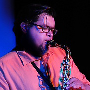 Russ Grazier, Jr. performs with members of the PMAC Jazz Faculty at The Music Hall Loft in Portsmouth, NH