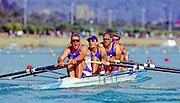Sydney Olympics 2000 - Penrith Lakes, NSW.  © 2000 All Rights Reserved - Peter Spurrier Sports Photo. .Tel 44 (0) 1784-440 771  .Mobile 44 (0) 973 819 551.email images@intersport-images.com 2000 Olympic Regatta Sydney International Regatta Centre (SIRC) 2000 Olympic Rowing Regatta00085138.tif