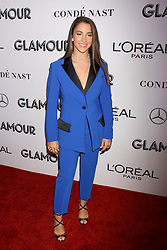 Aly Raisman at the 2018 Glamour Women Of the Year Awards: Women Rise at Spring Studios in New York City.