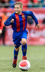 04.06.2017, Kunstrasen, Kirchberg, AUT, 20. Cordial Cup 2017, FC Barcelona vs FC Bayern München, U11 Finale, im Bild Ivan Rodriguez Martos (FC Barcelona) // during the 20. Cordial Cup Under 11 final match between FC Barcelona and FC Bayern München at the Kunstrasen, Kirchberg, Austria on 2017/06/04. EXPA Pictures © 2017, PhotoCredit: EXPA/ Stefan Adelsberger