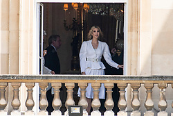 © Licensed to London News Pictures. 03/06/2019. London, UK. Ivanka Trump attends a ceremonial welcome at Buckingham Palace in honour of US President Donald Trump. The visit is on the first day of a three day state visit. Photo credit: Ray Tang/LNP