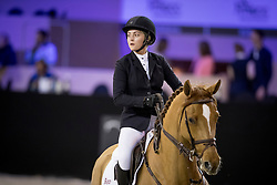 Reid Chloe, USA, Sally 643<br /> Jumping Indoor Maastricht 2016<br /> © Hippo Foto - Dirk Caremans<br /> 12/11/2016