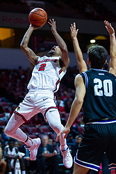 NORMAL, IL - October 23: Zach Copeland during a college basketball game between the ISU Redbirds and the Truman State Bulldogs on October 23 2019 at Redbird Arena in Normal, IL. (Photo by Alan Look)