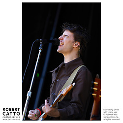 Jim Moray performs at WOMAD music festival in New Plymouth, Taranaki New Zealand.