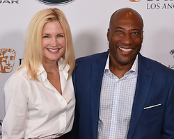 September 15, 2018 - Beverly Hills, California, USA - JENNIFER LUCAS and  BYRONALLEN attends the 2018 BAFTA Los Angeles + BBC America TV Tea Party at the Beverly Hilton in Beverly Hills. (Credit Image: © Billy Bennight/ZUMA Wire)