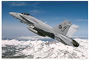 F-18C, air-to-air